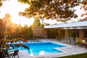 Adding a pool can be the drawcard to attracting grandchildren to your garden